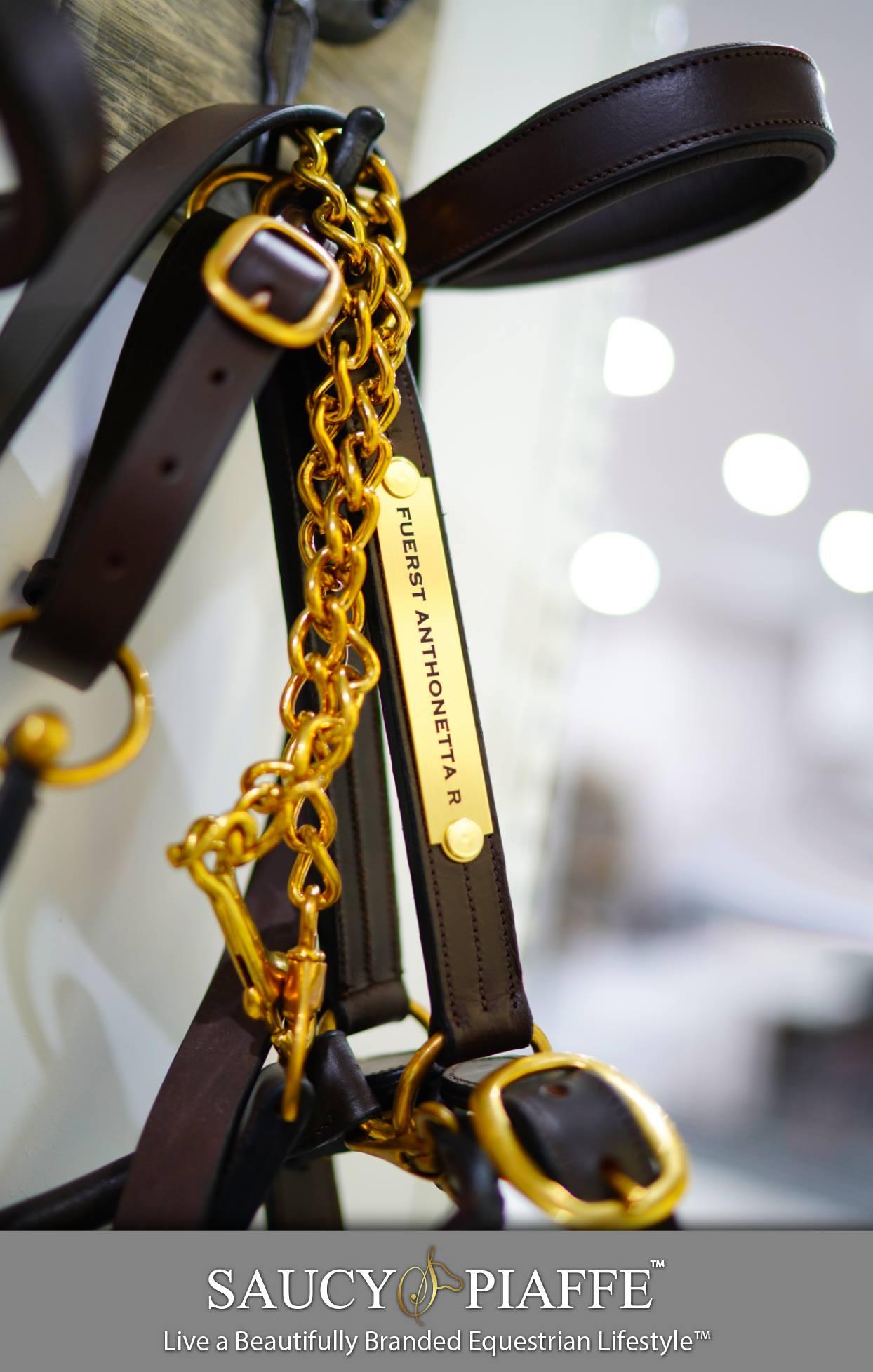 saucypiaffe custom horse halter