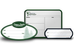 Custom Size Dry-Erase Stall Whiteboard